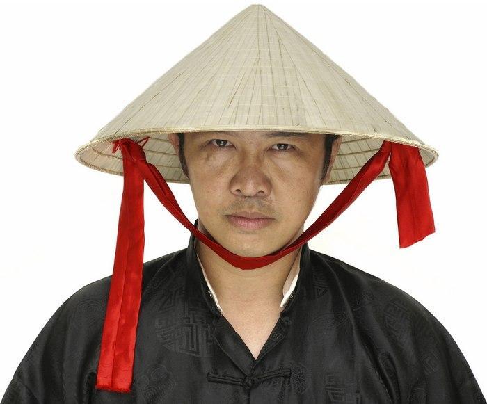 Головной убор, азиатская шляпа для мужчин, фото