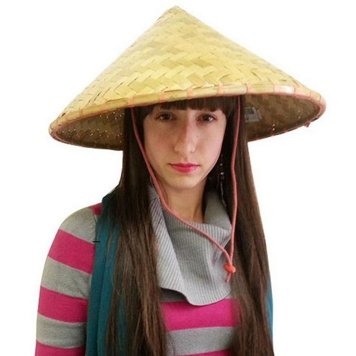 Головной убор, азиатская шляпа для женщин, фото