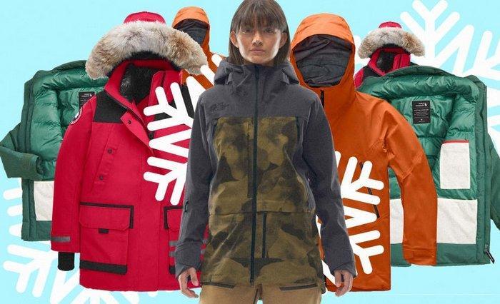 Лучшие бренды зимних курток, фото