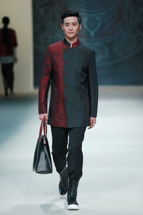 Мужская одежда в азиатском стиле, фото