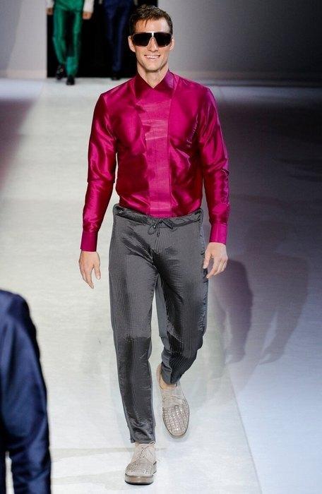 Мужская одежда в гламурный стиле, фото