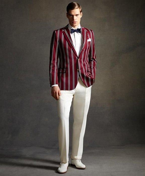 Мужская одежда в стиле арт-деко, фото