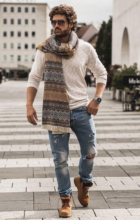 Мужская одежда в стиле бохо, фото