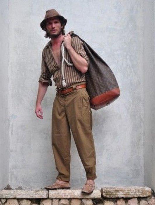Мужская одежда в стиле гаучо, фото