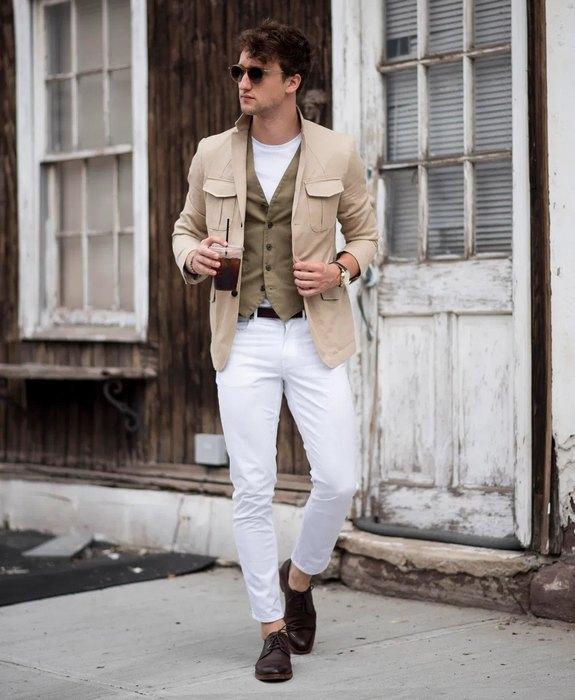 Мужская одежда в стиле городской шик, фото