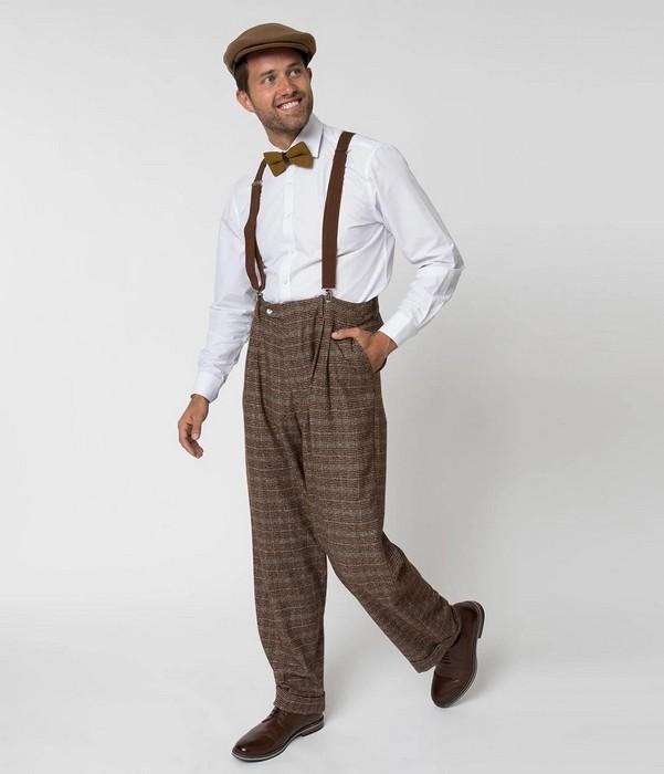 Мужская одежда в стиле винтаж, фото