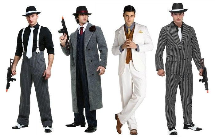 Одежда в гангстерском стиле, фото