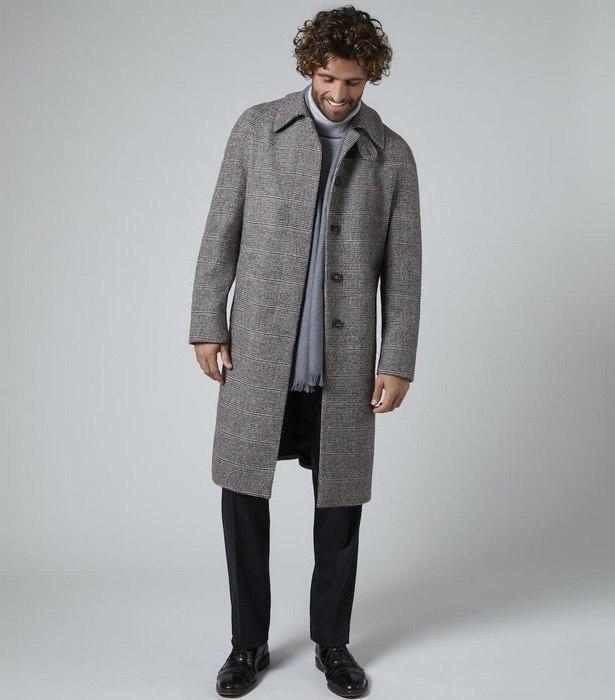 Пальто балмакаан для мужчин, фото