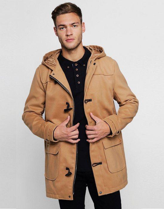 Пальто дафлкот для мужчин, фото