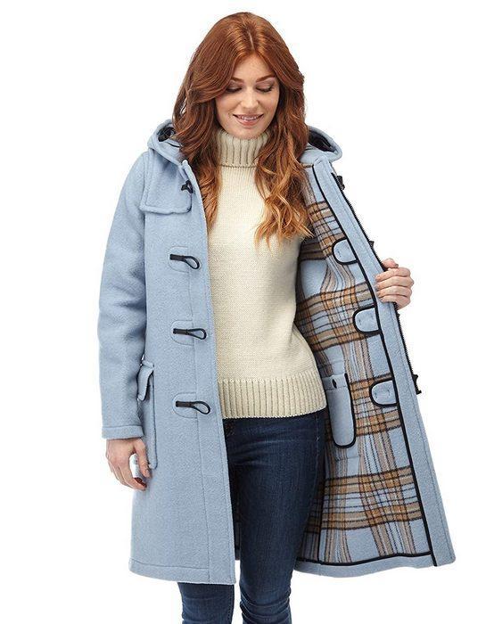 Пальто дафлкот для женщин, фото