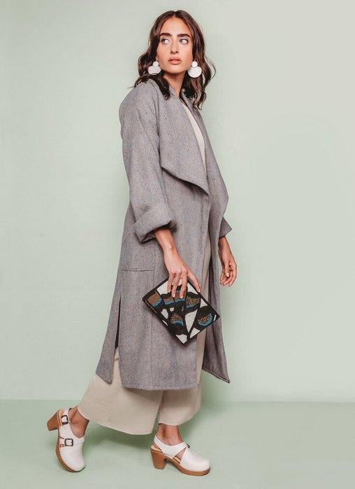 Пальто дастер для женщин, фото
