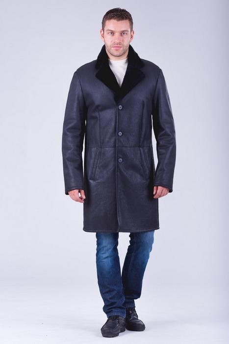 Пальто дубленка для мужчин, фото