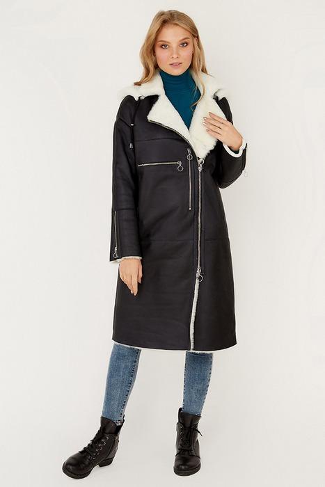 Пальто дубленка для женщин, фото