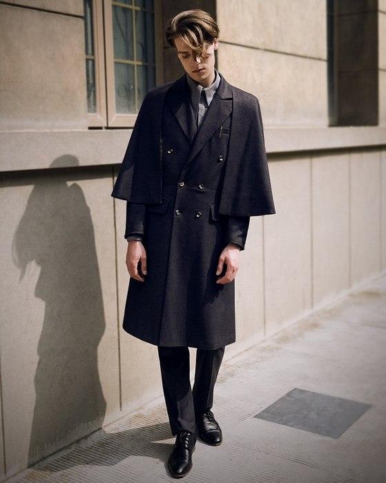 Пальто инвернесс для мужчин, фото
