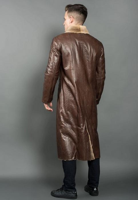 Пальто копар для мужчин вид со спины, фото