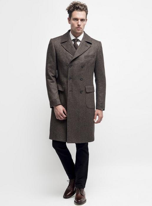 Пальто ольстер для мужчин, фото