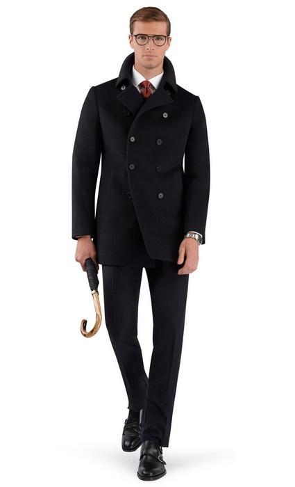 Пальто пардесю для мужчин, фото