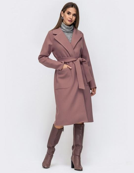 Пальто с запахом для женщин, фото