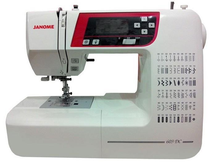 Швейная машинка Janome DC 603, фото