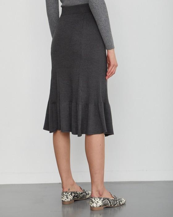 Женская юбка годе, фото