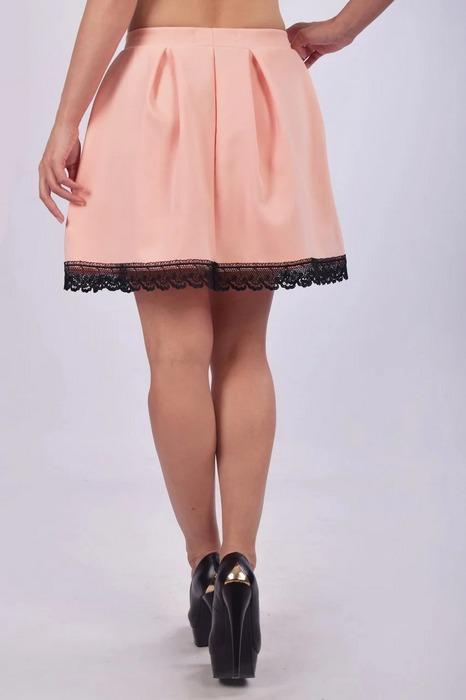 Женская юбка колокол, фото