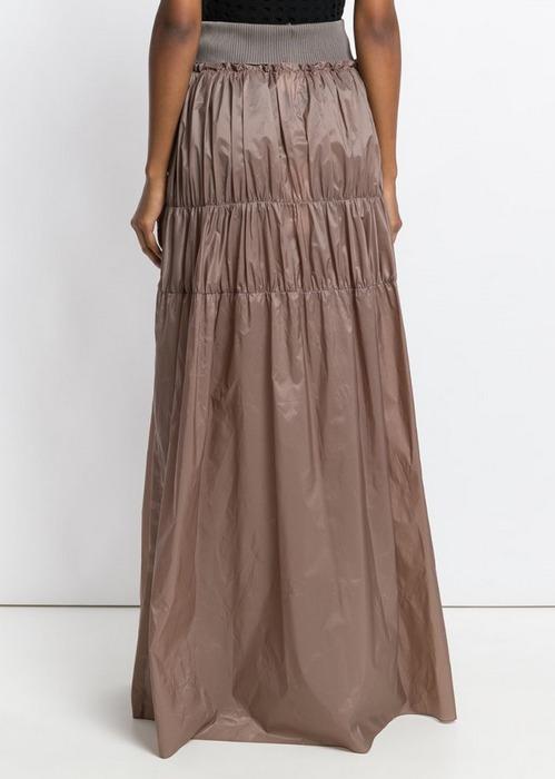 Женская юбка многоярусная, фото