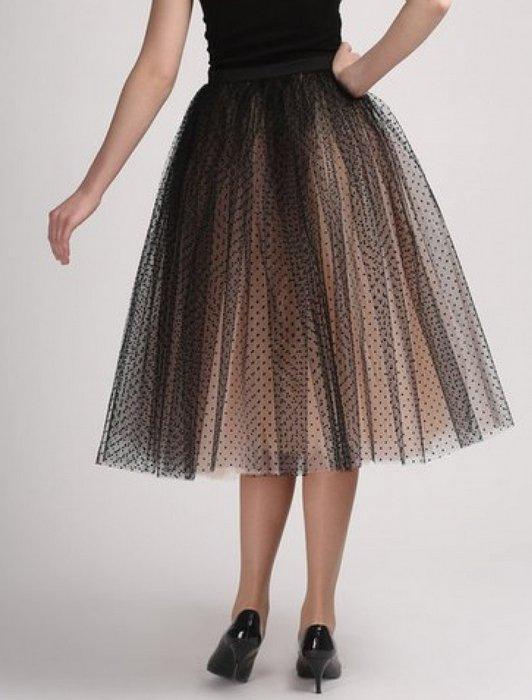 Женская юбка пачка, фото