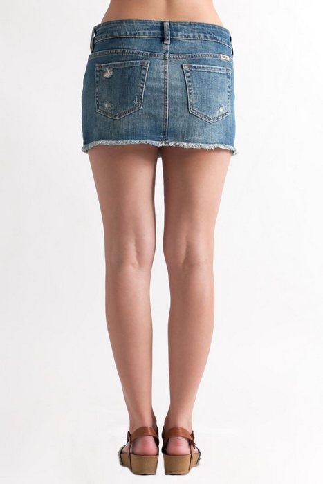 Женская юбка с карманами, фото
