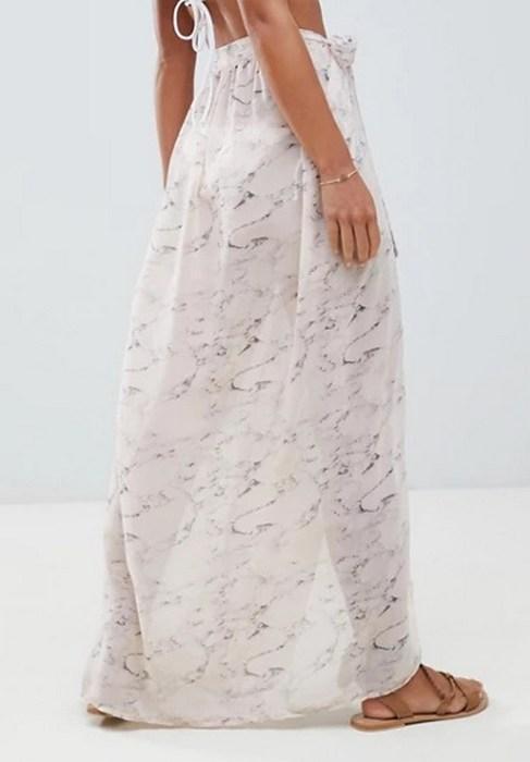 Женская юбка саронг, фото