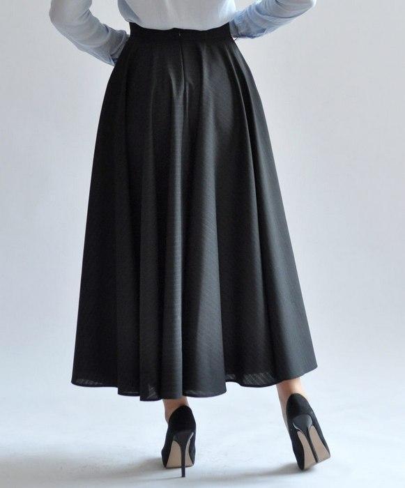 Женская юбка солнце, фото