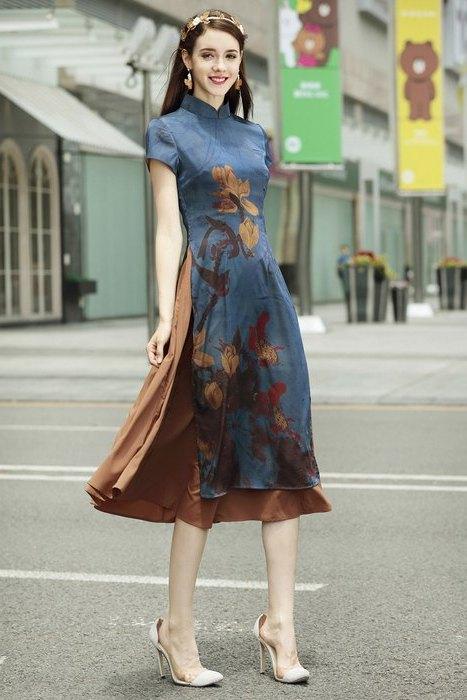 Женская одежда в азиатском стиле, фото