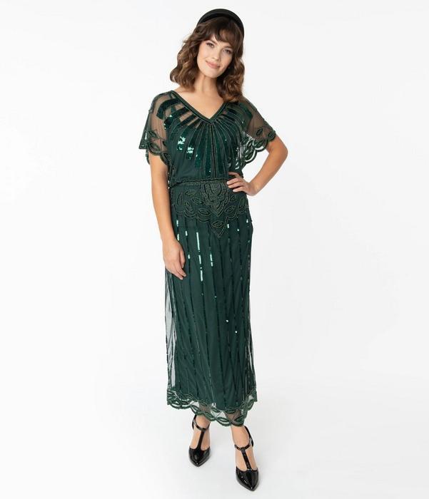 Женская одежда в стиле арт-деко, фото