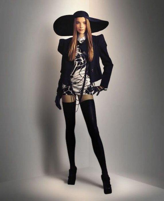 Женская одежда в стиле авангард, фото