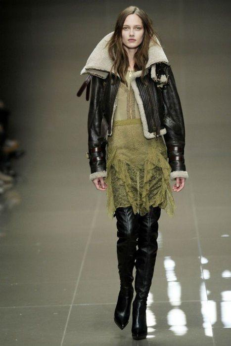 Женская одежда в стиле авиатор, фото