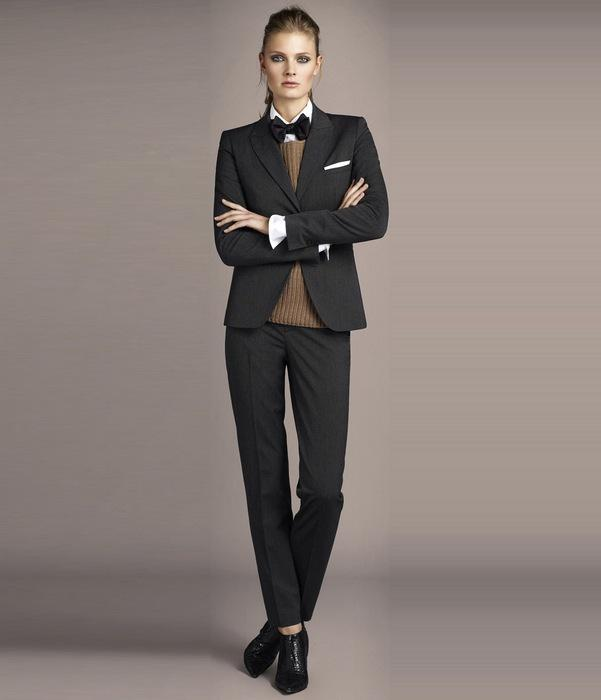Женская одежда в стиле гарсон, фото