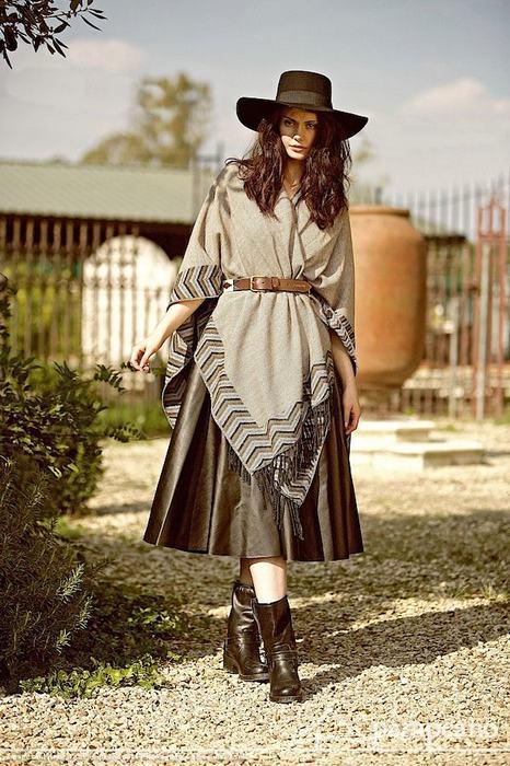 Женская одежда в стиле гаучо, фото