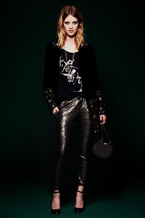 Женская одежда в стиле глэм-рок, фото