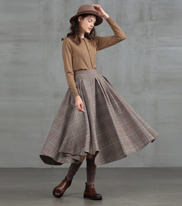 Женская одежда в стиле винтаж, фото