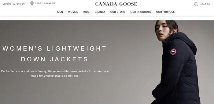 Женские зимние куртки Canada Goose, фото