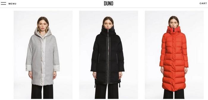 Женские зимние куртки Duno, фото