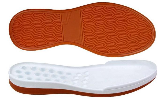 Комбинированная подошва у обуви, фото
