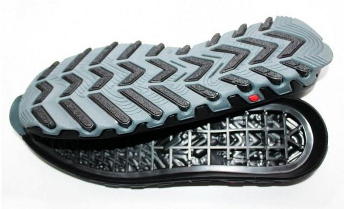 Резиновая подошва у обуви, фото