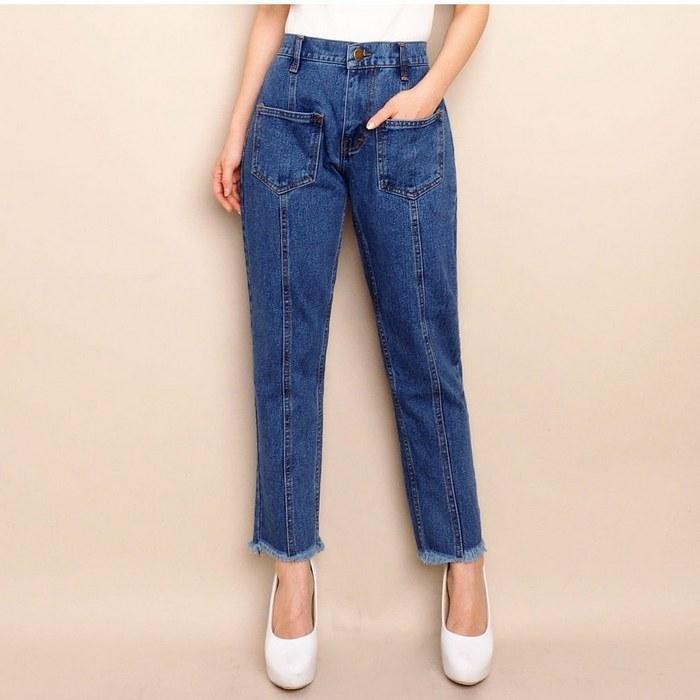 Вид джинсов Baggy для женщин, фото