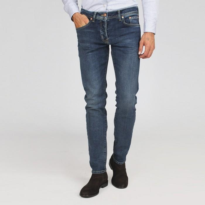 Вид джинсов basic для мужчин, фото