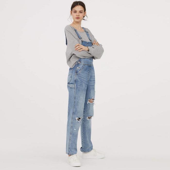 Вид джинсов Bib для женщин, фото