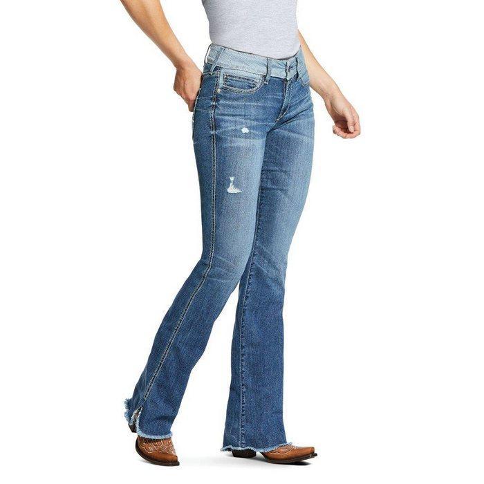 Вид джинсов Boot Cut для женщин, фото