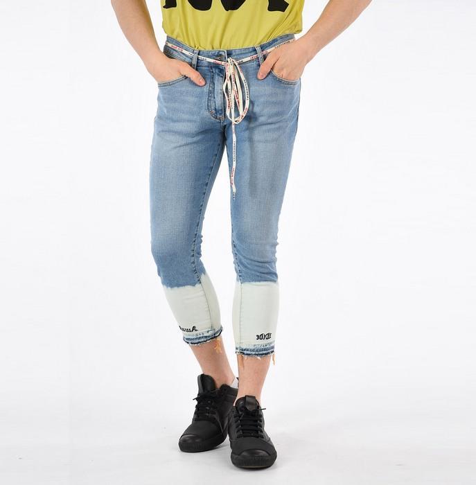 Вид джинсов Capris для мужчин, фото