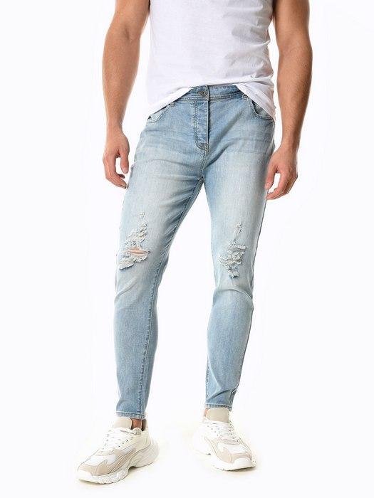 Вид джинсов Carrot Fit для мужчин, фото