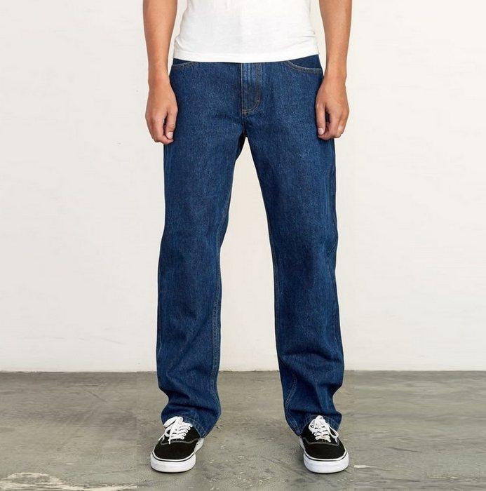 Вид джинсов Relaxed Fit для мужчин, фото
