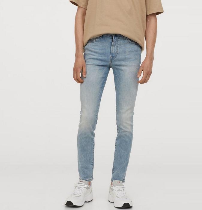 Вид джинсов Skinny для мужчин, фото
